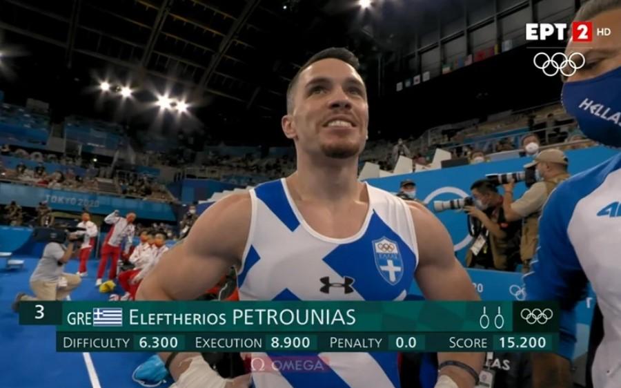 Ολυμπιακοί Αγώνες: Χάλκινος ο Λευτέρης Πετρούνιας – Η έξοδος του κόστισε το χρυσό
