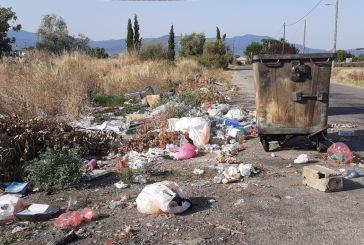 Αγρίνιο: σκουπιδότοπος στο Βελούχι και κάπως έτσι ξεσπούν οι πυρκαγιές