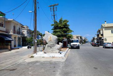 Βόνιτσα: Τοποθετήθηκε το μνημείο με το ανάγλυφο του Γεωργίου Νικολού Βαρνακιώτη