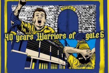 Θύρα 6-Warriors: Γιορτάζουν τα 40 τους χρόνια οι οργανωμένοι του Παναιτωλικού στις 3 Σεπτεμβρίου