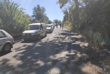 Εκτροπή οχήματος προκάλεσε κυκλοφοριακό «έμφραγμα» στη Γέφυρα Αβόρανης