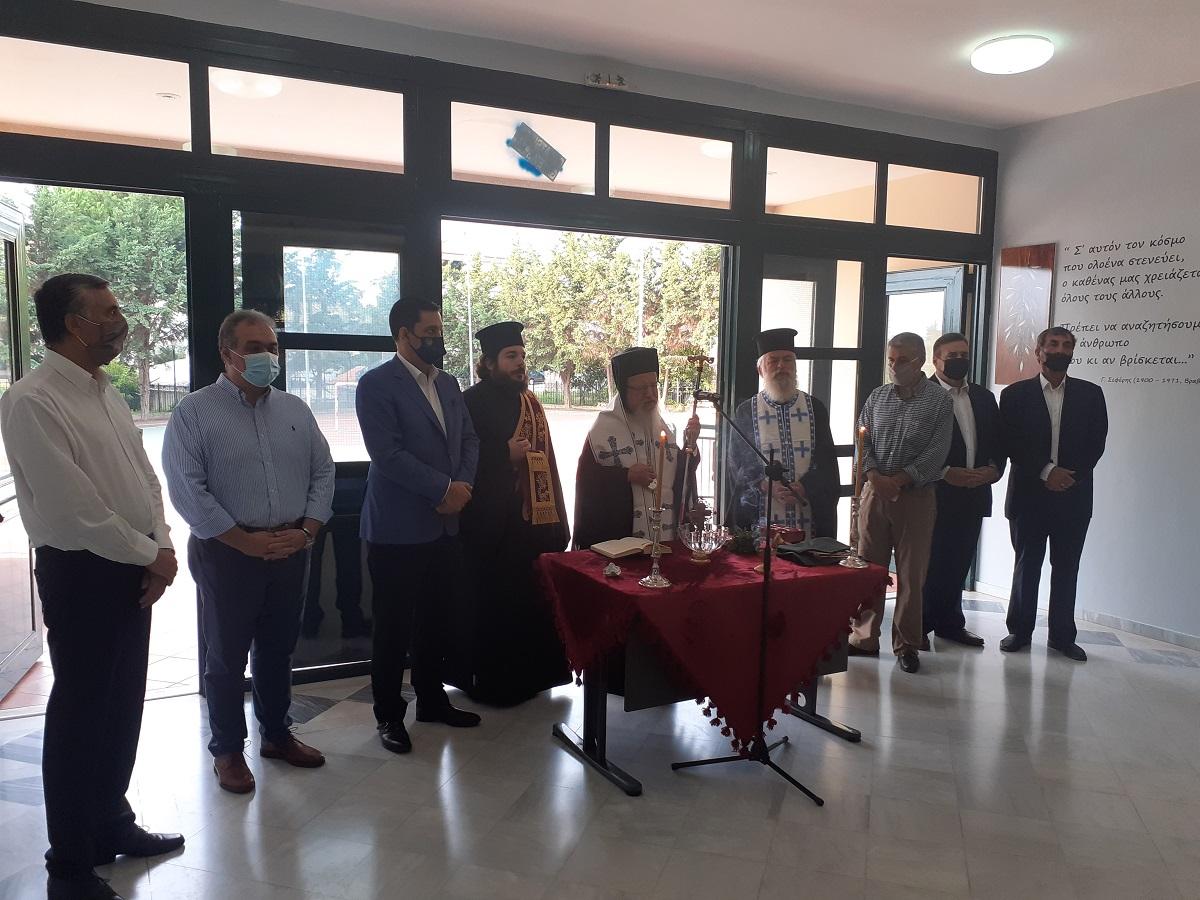 Αγρίνιο: Ήχησε το πρώτο κουδούνι της χρονιάς- Στους αγιασμούς τριών σχολείων ο Δήμαρχος