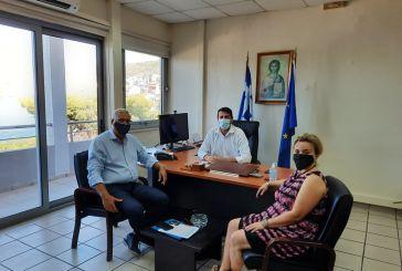 Συνάντηση του Δημάρχου Αμφιλοχίας με τον Γενικό Γραμματέα του Υπουργείου Εσωτερικών