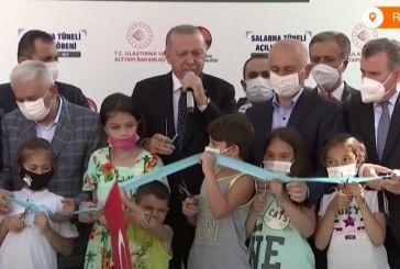 Τουρκία: Δεκάχρονο παιδί κόβει πρόωρα την κορδέλα εγκαινίων και εκνευρίζει τον Ερντογάν