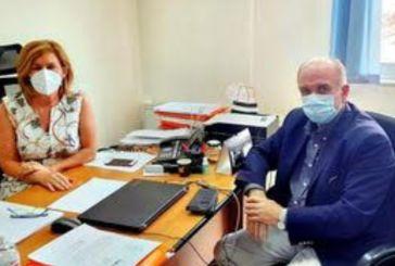 Νέα συνάντηση Λύρου με την διοικήτρια του Νοσοκομείου Μεσολογγίου