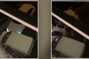 Viral βίντεο: Ζευγάρι Ελλήνων τσακώνεται άγρια στη Γερμανία και η γυναίκα εμβολίζει το αυτοκίνητο του άνδρα