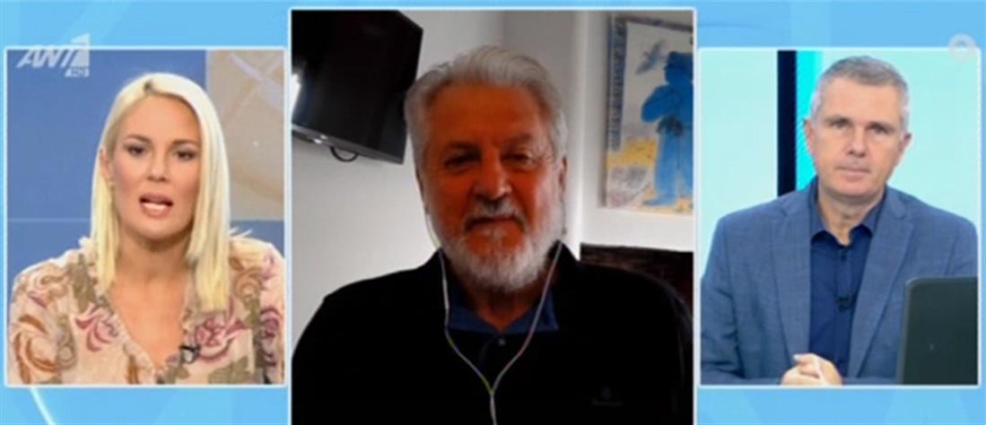 Καπραβέλος – Καταγγέλλει ότι δέχεται απειλές για τη ζωή του από αρνητές του κορωνοϊού