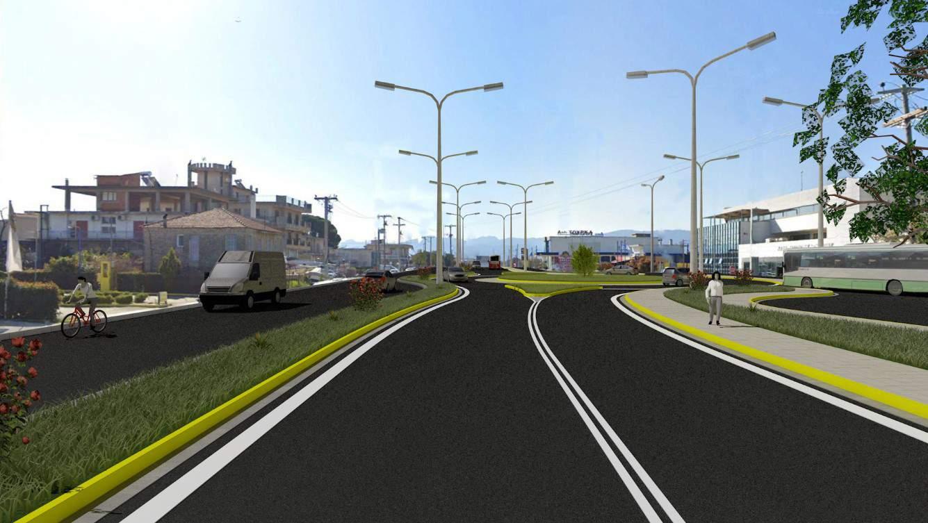 Αγρίνιο: Κυκλοφοριακές ρυθμίσεις για την κατασκευή του κυκλικού κόμβου στο ΚΤΕΛ