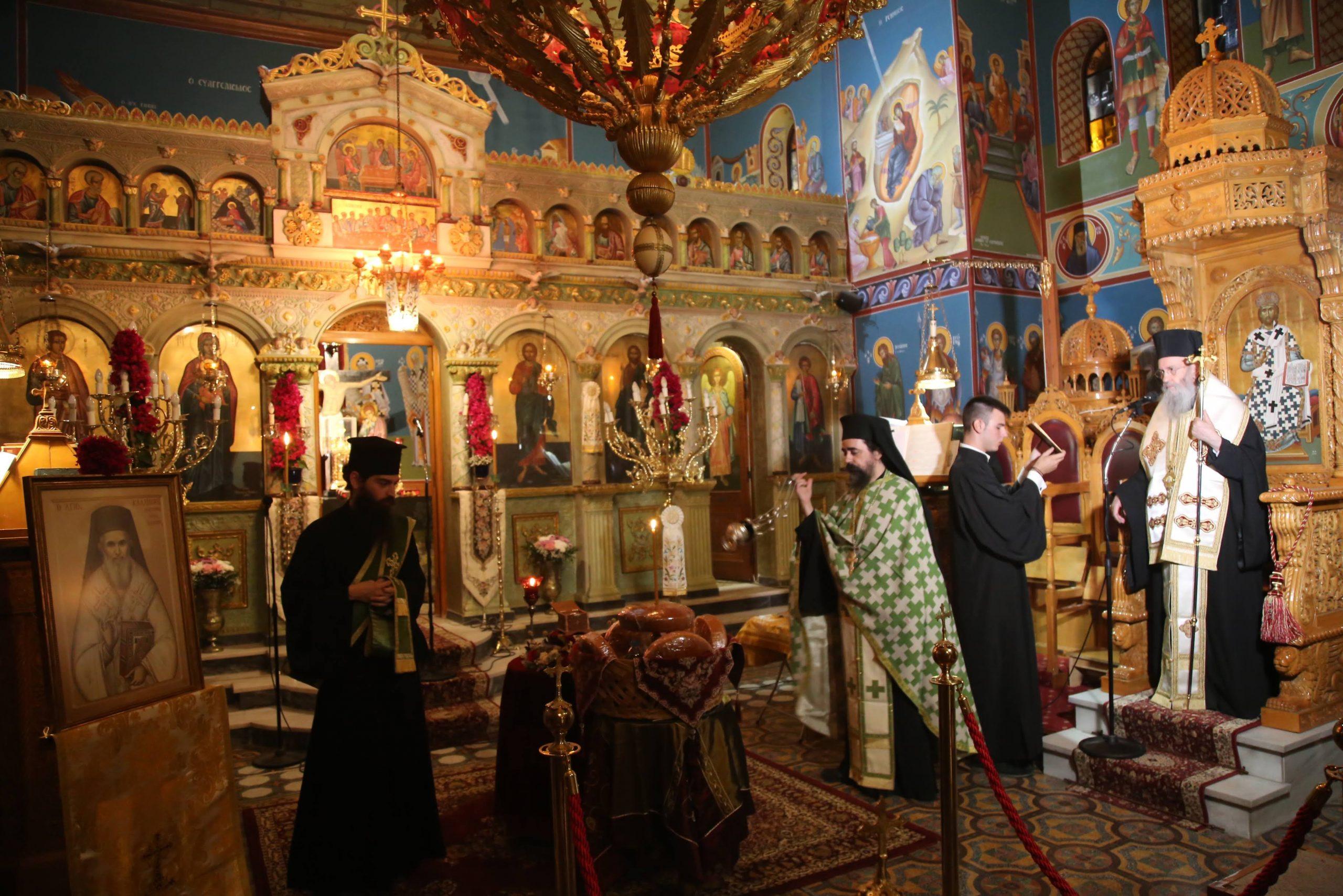 Υποδοχή λειψάνου και αγρυπνία για τον Άγιο Καλλίνικο Εδέσσης στον Λυγιά Ναυπακτίας