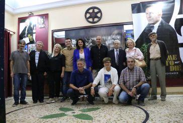 """Αγρίνιο: «Γέμισε ο """"Ελληνίς"""" αναμνήσεις» στην προβολή του ντοκιμαντέρ του Χρήστου Μαγκλίνη"""
