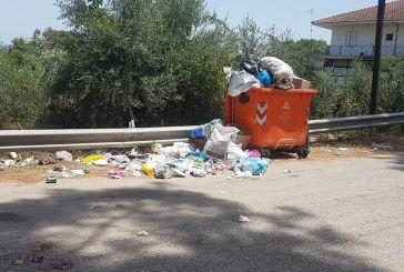 «Χάος» με τα σκουπίδια στα χωριά και στην πόλη του Μεσολογγίου