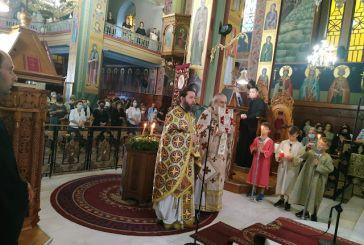Η εορτή της Υψώσεως του Τιμίου Σταυρού στην Αγία Τριάδα Αγρινίου