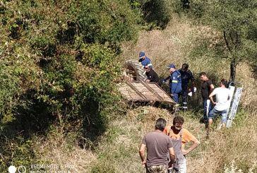 Νέα τραγωδία: νεκρός 43χρονος από ανατροπή τρακτέρ στην περιοχή του Βλοχού