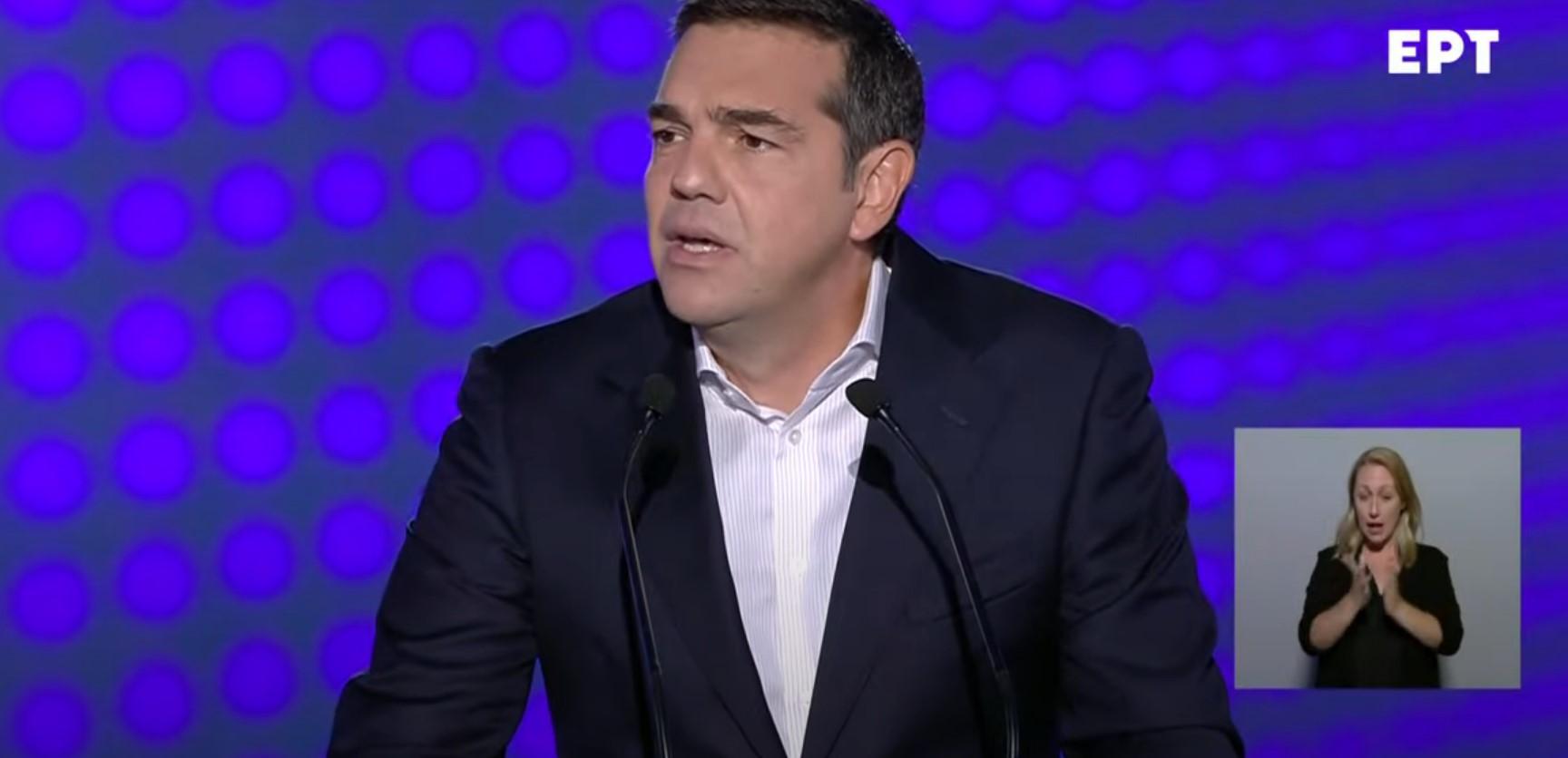 H ομιλία του Αλέξη Τσίπρα στη ΔΕΘ: Παρουσιάζει το σχέδιο του ΣΥΡΙΖΑ