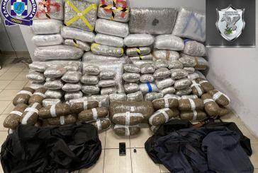 Αμφιλοχία: «Χτύπημα» σε διεθνές κύκλωμα διακίνησης ναρκωτικών-334 κιλά χασίς στο φορτηγό