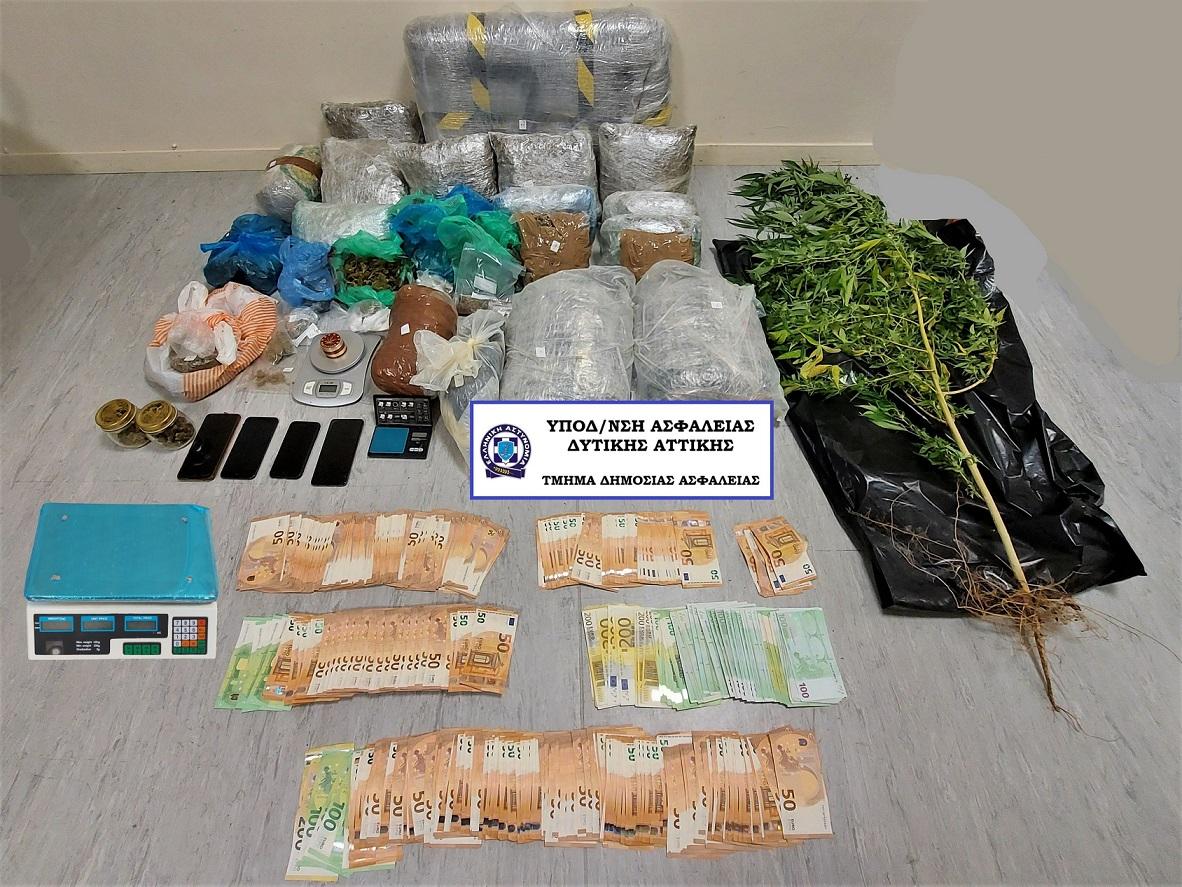 Συλλήψεις και στο Αγρίνιο για κύκλωμα διακίνησης ναρκωτικών