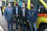 Χαλκιόπουλο: αγιασμός για το νέο ασθενοφόρο του Κέντρου Υγείας (φωτό)