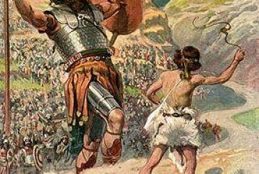 Πυραίχμης: Ο μικρόσωμος Αιτωλός που νίκησε τον γίγαντα Δέγμενο με τη σφεντόνα του