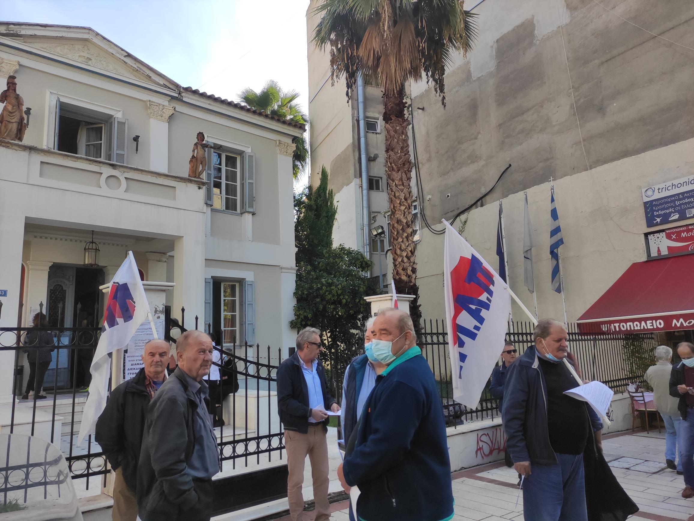 Εργατικό Κέντρο Αγρινίου: Διαμαρτυρία στη ΔΕΗ- «Το ρεύμα είναι λαϊκό αγαθό, φθηνή παροχή σε όλους»