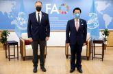 Συνάντηση Λιβανού με τον Γενικό Διευθυντή του FAO: Στο επίκεντρο οι επενδυτικές ευκαιρίες στην αγροδιατροφή