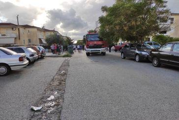Αγρίνιο: αναστάτωση από φωτιά σε διαμέρισμα στις Eργατικές Σταδίου – ένας τραυματίας
