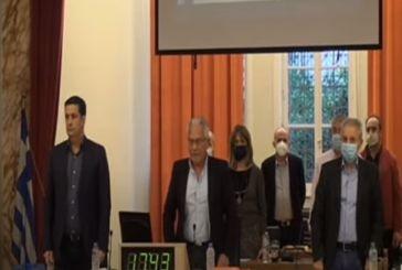 Φώφη Γεννηματά: Ενός λεπτού σιγή στο Δημοτικό Συμβούλιο Αγρινίου