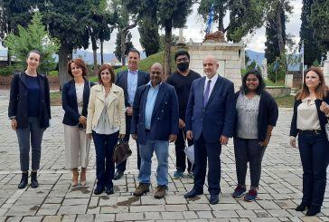 Επισκέφθηκε το Μεσολόγγι ο Ινδός πρέσβης