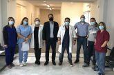 Επίσκεψη Παπαθανάση στο Κέντρο Υγείας Κατούνα