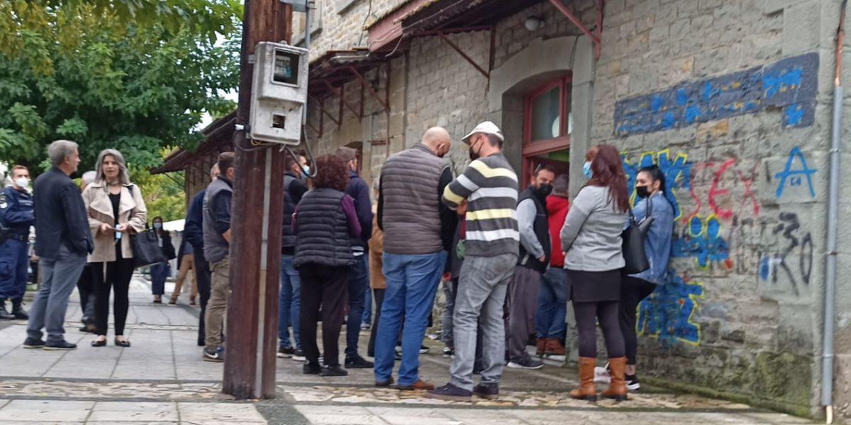 Αγρίνιο: συμμετοχή στις κάλπες της ΝΔ (φωτό)