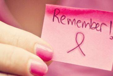 Την 25η Οκτωβρίου: στα ροζ τρία εμβληματικά σημεία του Θέρμου
