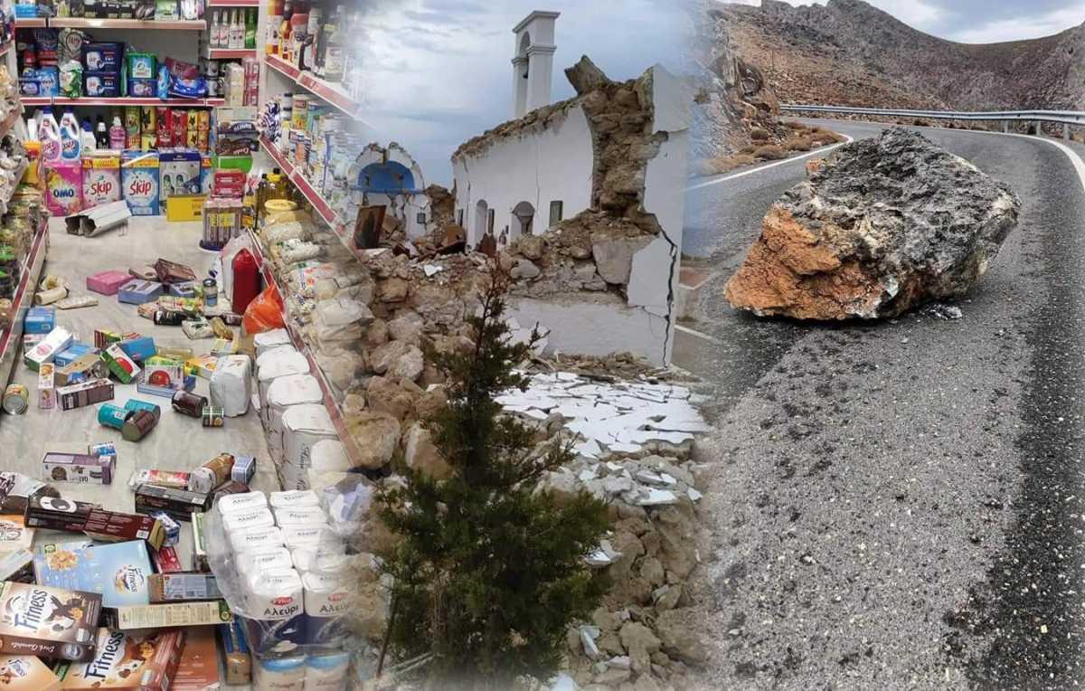 Σεισμός στην Κρήτη: Ζημιές, κατολισθήσεις και πανικός από τα 6,3 Ρίχτερ
