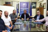 Συνάντηση συνδικαλιστικών φορέων επιχειρηματικότητας στο Μεσολόγγι