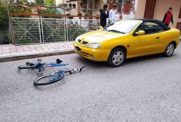 Σοβαρός τραυματισμός ποδηλάτη στο Θέρμο