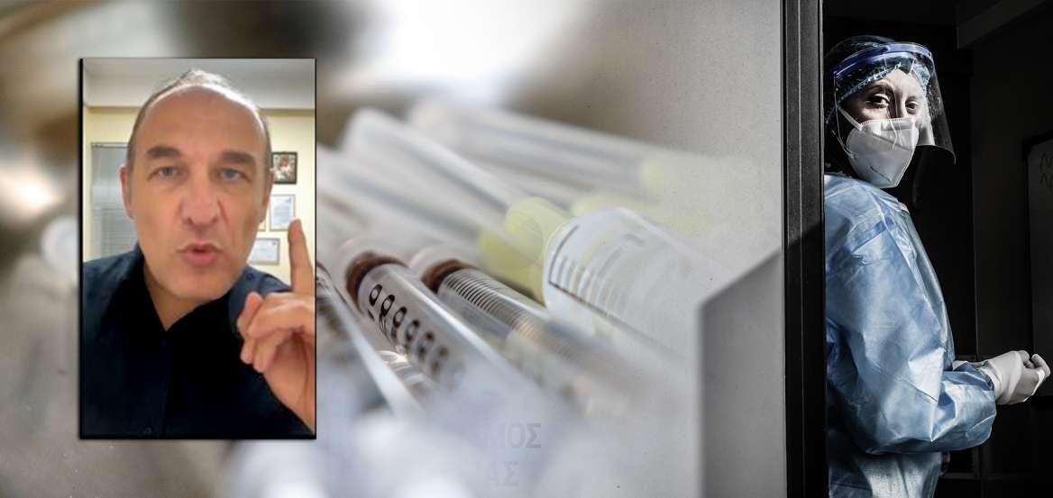 Φαίδων Βόβολης: Αναστολή επαγγέλματος για 6 μήνες στον γιατρό των αρνητών εμβολίου