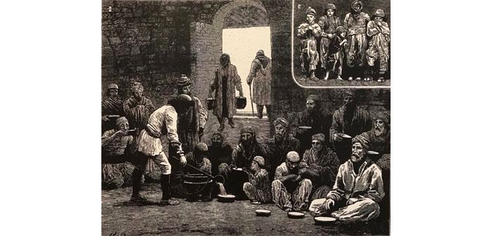 Οι ζητιάνοι με τα ακρωτηριασμένα άκρα έξω από το Σαράι στο Βραχώρι του 1816