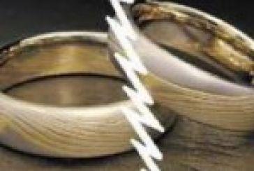 33 διαζύγια το Α΄ δίμηνο